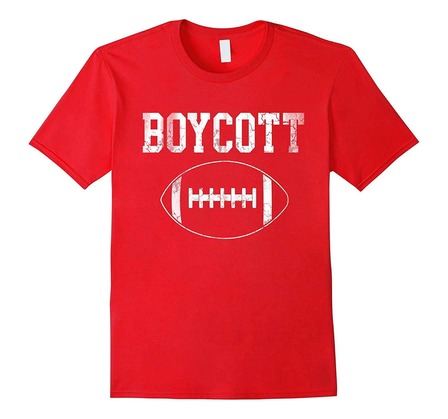 Boycott Football Patriotic Shirt-TJ