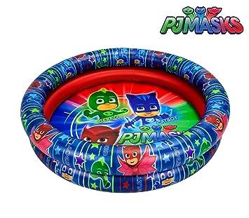 2901 Piscina inflable para niños PJMASKS dos anillos diametro 90 ...