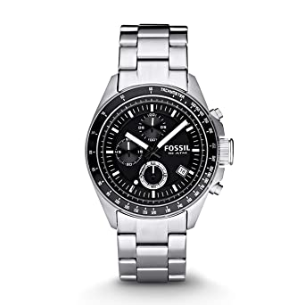 20aeea5fa Buy Fossil Decker Chronograph Analog Black Dial Men's Watch - CH2600IE  Online at Low Prices in India - Amazon.in