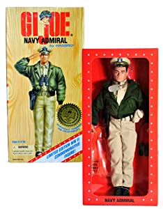 G.I. Joe World War II Navy Admiral (Caucasian Version) Limited Edition World War II 1996 50th Anniversary Commemorative Edition 12 Inch Action Figure