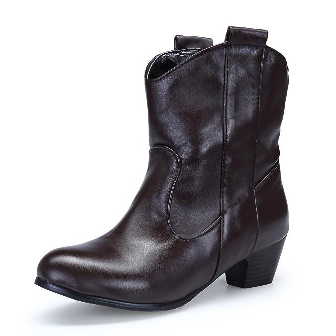 DAFENP Botas Botines Chelsea,Botas Chelsea para Mujer: Amazon.es: Zapatos y complementos