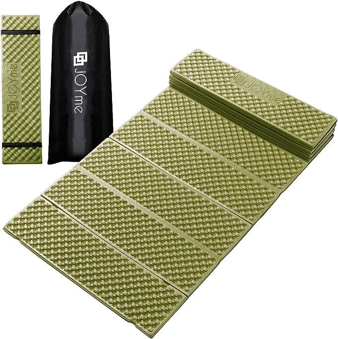 [ JOYme ] キャンプマット アウトドアマット (187cm×56cm / 選べる6カラー) 収納袋 ゴムバンド 付き/防水/超軽量/断熱