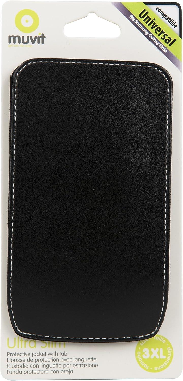 Muvit MUCUN0012 - Funda Universal Para Smartphone Hasta 5,5 Negro ...