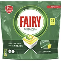 Fairy All-In-One Dishwasher Tablets, 26 Tablets