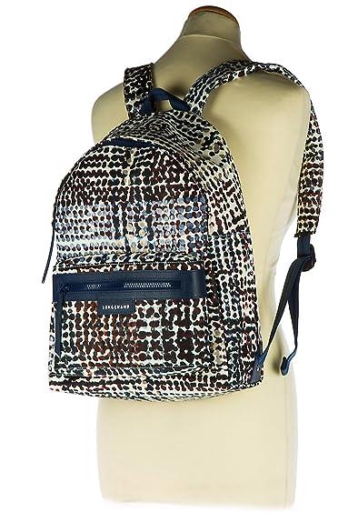 Longchamp mochila bolso de mujer nuevo blu: Amazon.es: Zapatos y complementos