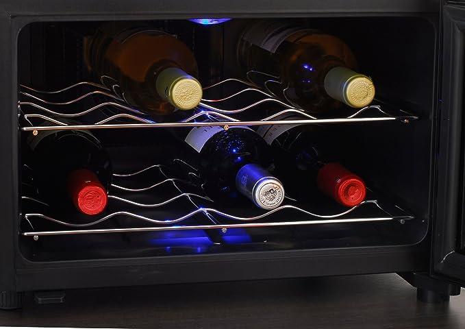 Mini Kühlschrank Für Flaschen : Caso winecase design weinkühlschrank für bis zu flaschen bis