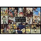 1000ピース ジグソーパズル サタデーイブニングポスト ノーマンロックウェル アートコレクション (50x75cm)