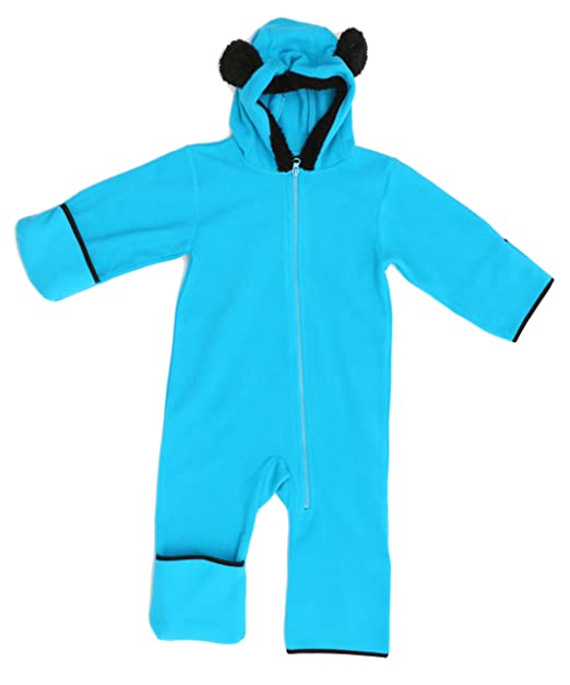 40b9faa466fd Amazon.com  Just Love Fleece Baby Girl Bunting Pram Snowsuit  Clothing