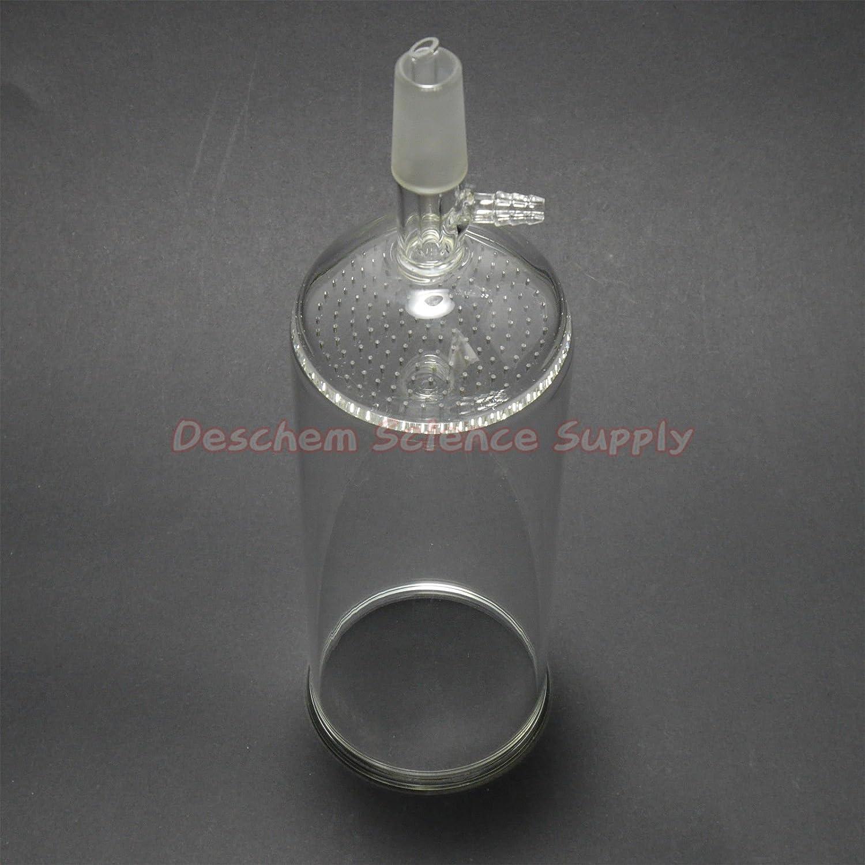 Deschem 1500ml,24//40,Glass Buchner Funnel with 90mm Pore Plate,1.5L,Lab Glassware
