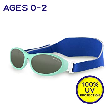 "597e325700f Idol Eyes Kids Sunglasses for Kids – ""Baby Wrapz"" Baby Sunglasses with  Strap for"