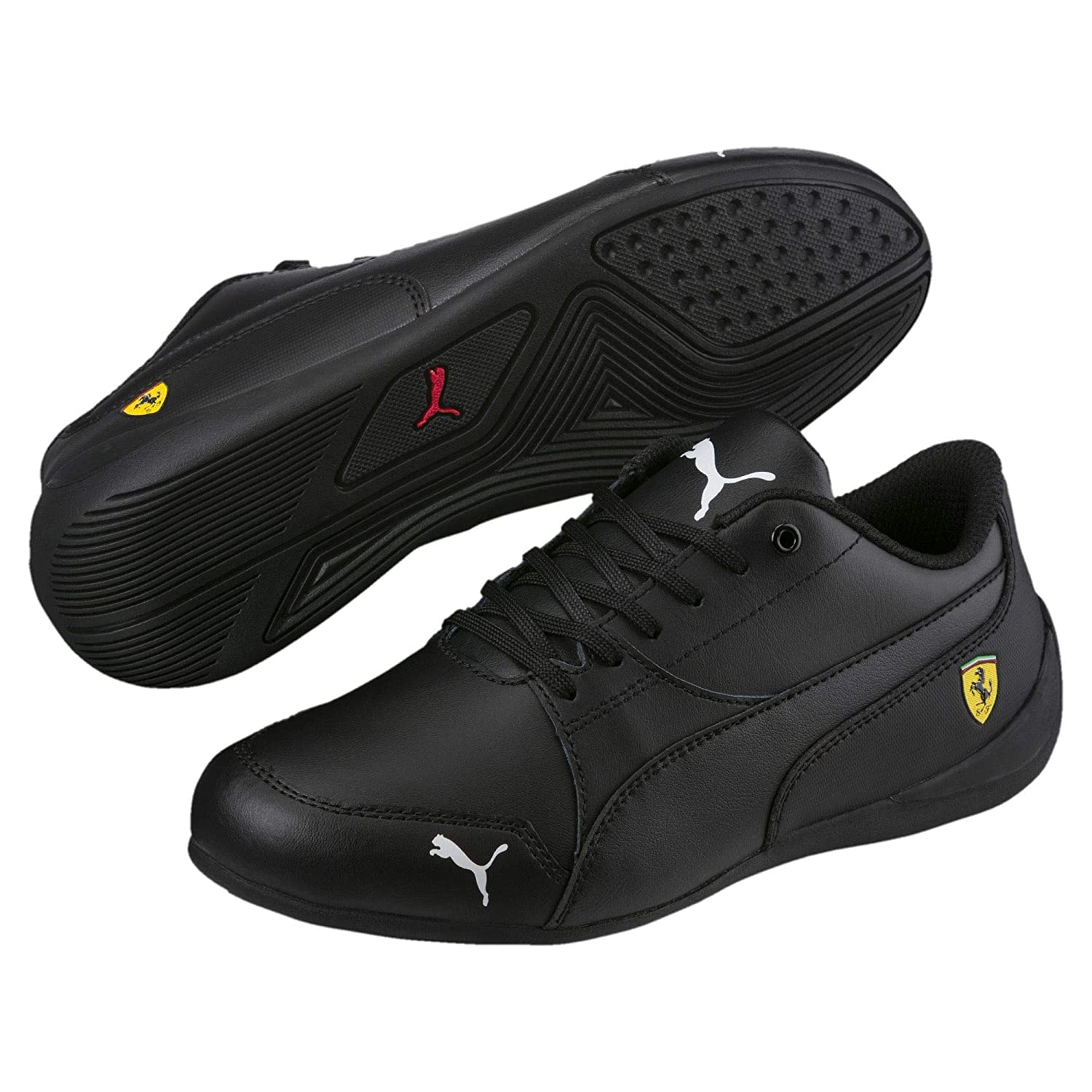 Puma SF Drift Cat 7 Jr Black Black  Buy Online at Low Prices in India -  Amazon.in 0e96db349