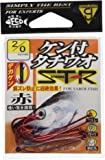 がまかつ(Gamakatsu) バラ ケン付タチウオ ST-R(赤) #2/0.