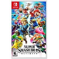 Deal for Super Smash Bros. Ultimate Nintendo Switch + $10 Credit for 56.35
