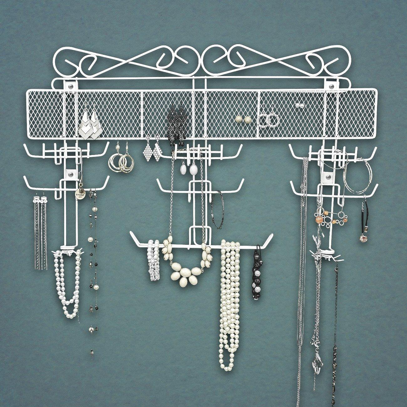 Amazoncom Sorbus Jewelry Hanger Organizer Valet Great for