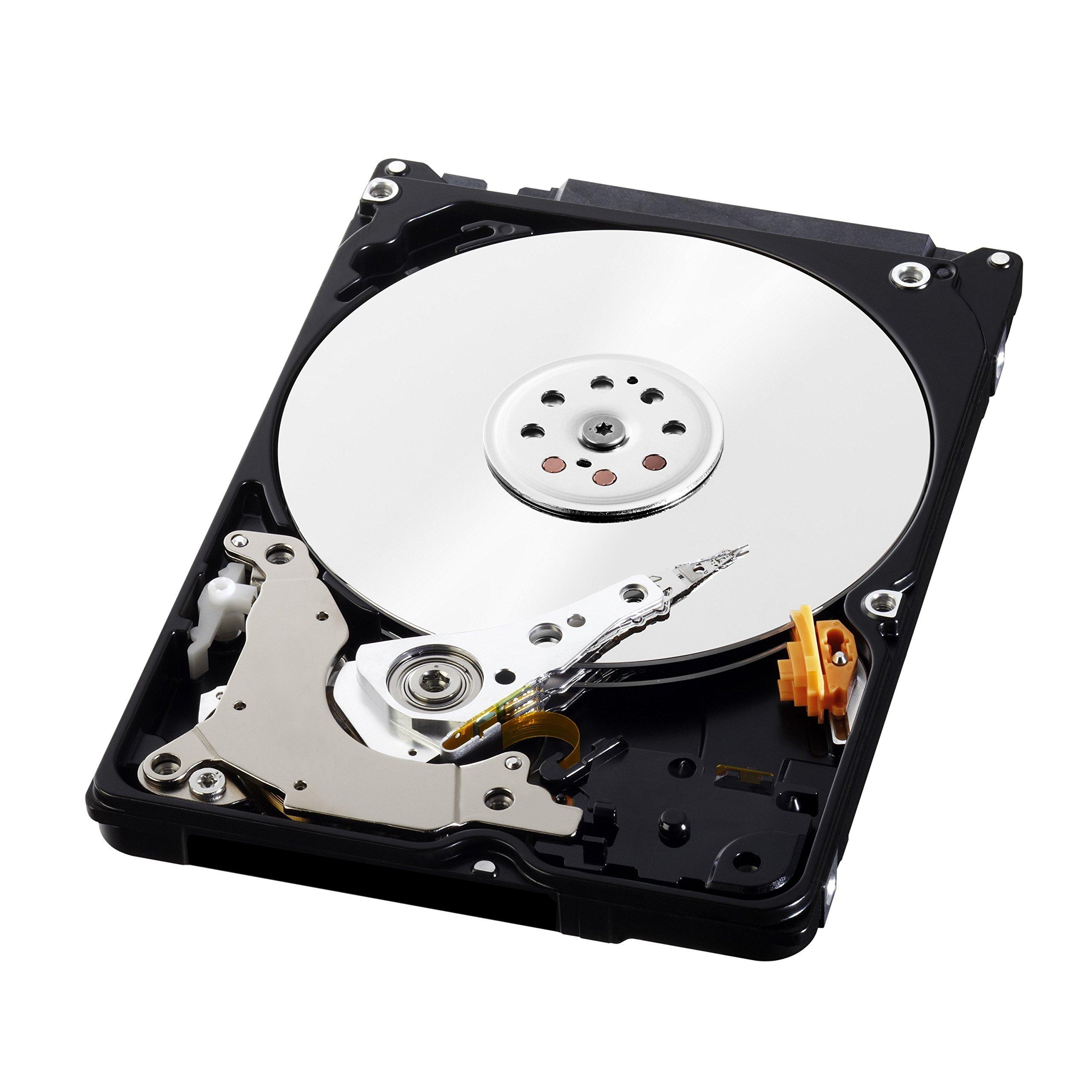 WD Blue 1TB Mobile Hard Disk Drive - 5400 RPM SATA 6 Gb/s 9.5 MM 2.5 Inch - WD10JPVX (Certified Refurbished)