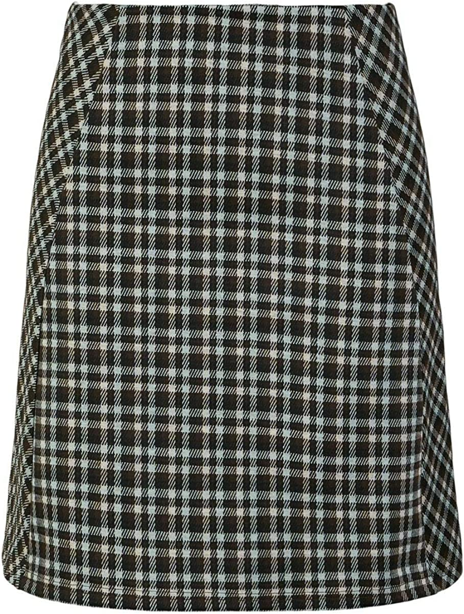 PIECES Pcsilvia HW Skirt Falda para Mujer