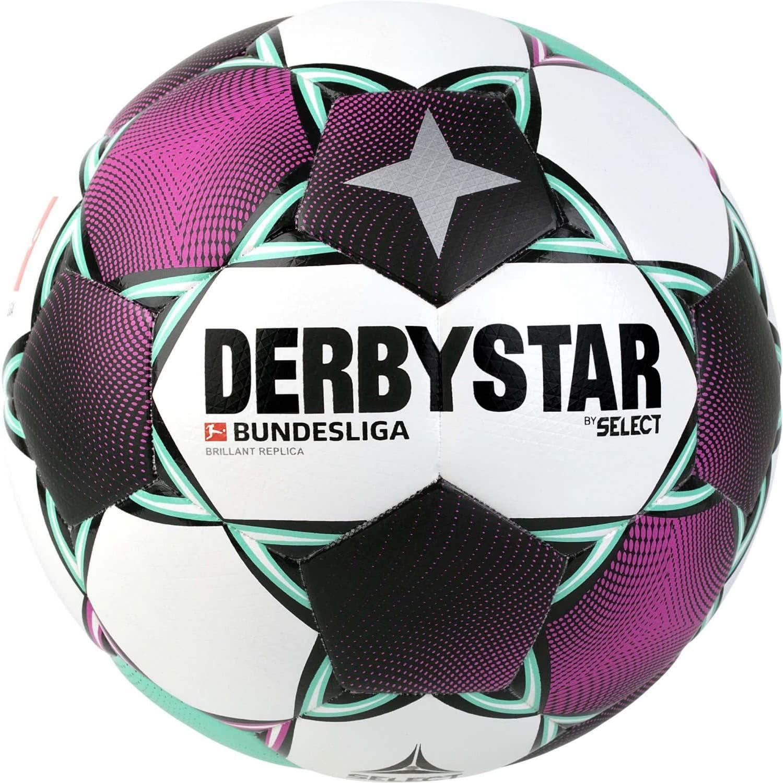 Derbystar Fussball Bundesliga 2020/21 Brillant Replica: Amazon.de: Sport & Freizeit - Derbystar Ball