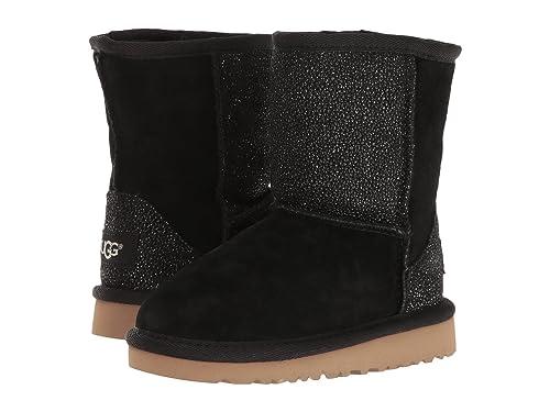 9e5e35baaf8 UGG Kids Classic Short serein Boot Black Size 9 M US Toddler: Amazon ...