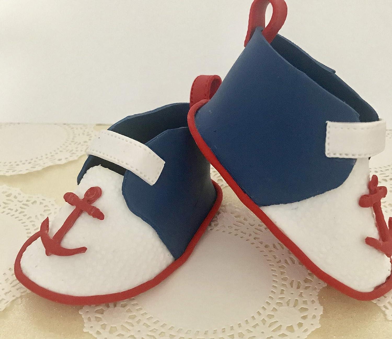 Sailor Baby Shoes.: Amazon.ca: Handmade