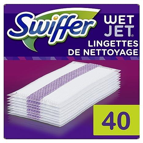 Swiffer WetJet escoba Spray recambios toallitas para todo tipo de suelo 20 piezas – Lote de