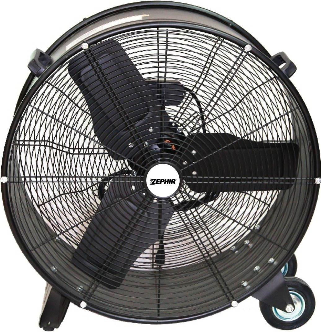 Negro Zephir zdc60/cm Ventilador Industrial de alta velocidad