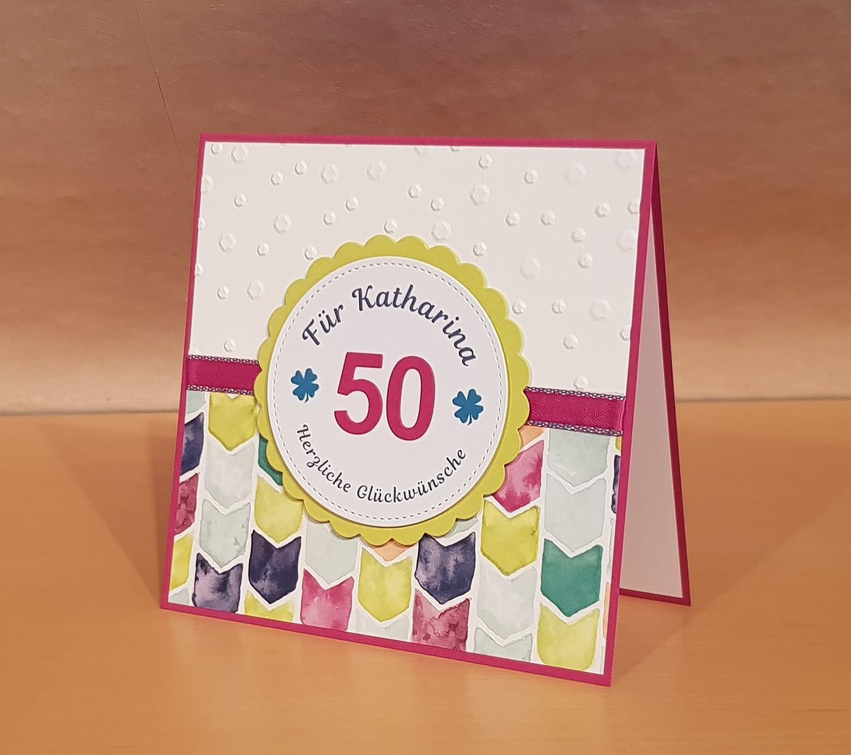 Karte zum Geburtstag Geburtstagskarte Handarbeit Gl/ückwunschkarte Zahl personalisierbar Name u