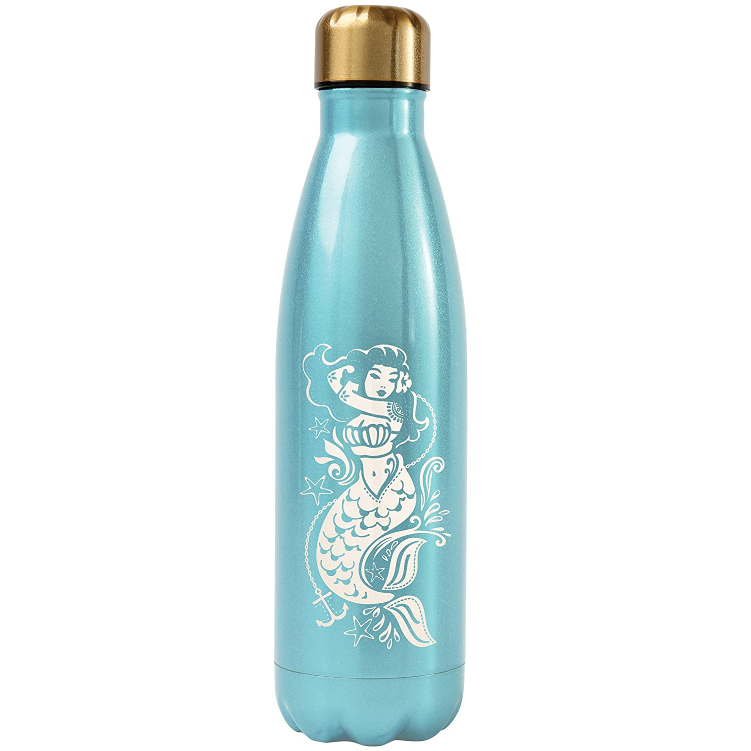 Coral Karma Gifts Mermaid Stainless Steel Water Bottle