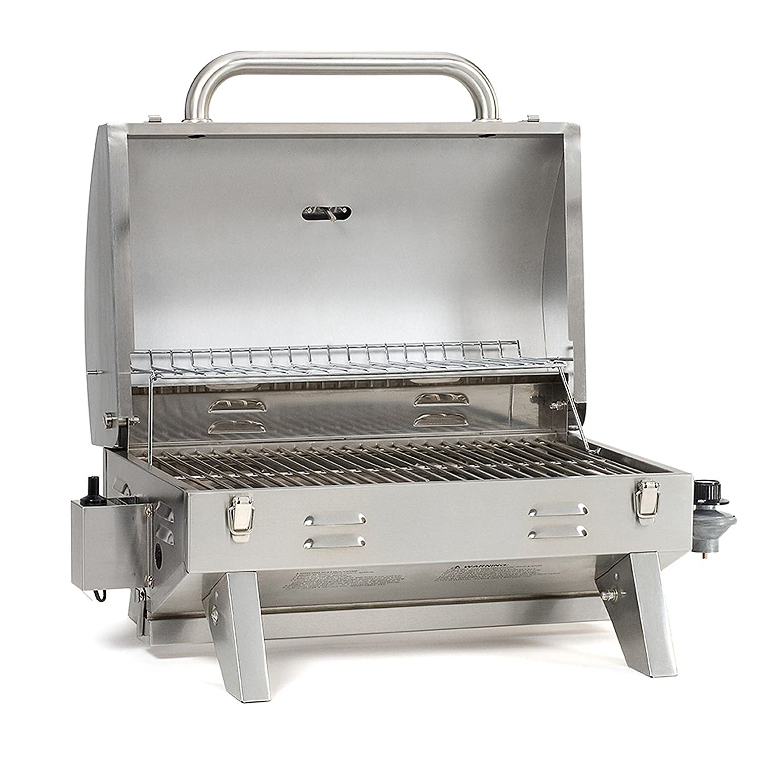 amazon com smoke hollow 205 stainless steel tabletop propane gas