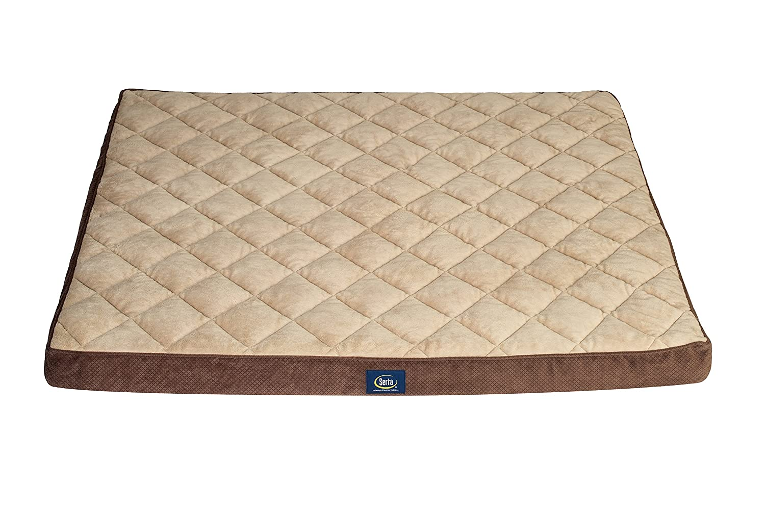 Serta Ortho Quilted Pillowtop Pet Bed