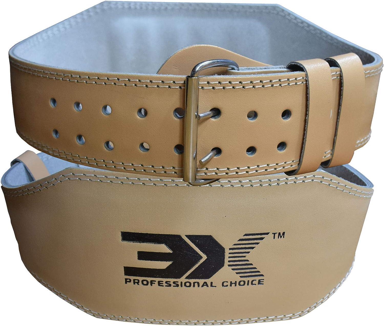 Cintur/ón Deportivo de elecci/ón Profesional 3X Cintur/ón de Fuerza de Culturismo de 4 6 Cintur/ón de Fuerza Lumbar Halterof/ílico Multicolor//Tama/ños