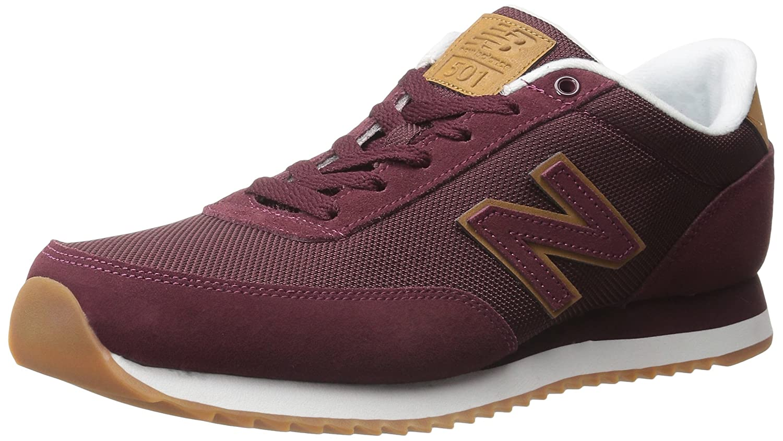 burgundy new balance 501