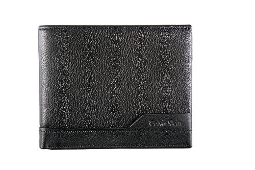 Calvin Klein - Cartera para hombre Negro Size: Talla única: Amazon.es: Zapatos y complementos