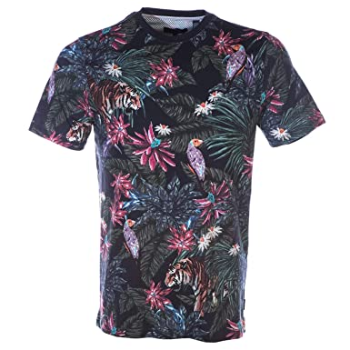 f864b9948 Amazon.com  Ted Baker Minte T Shirt in Navy L  Clothing
