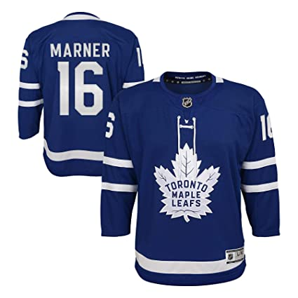 promo code 7490d 9f663 Youth Toronto Maple Leafs Mitch Marner Royal Premier Hockey Jersey
