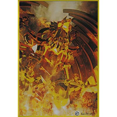 (50) Yu-Gi-Oh Small Size The Winged Dragon of Ra Card Sleeves 62x89 mm 50 Pieces: Toys & Games