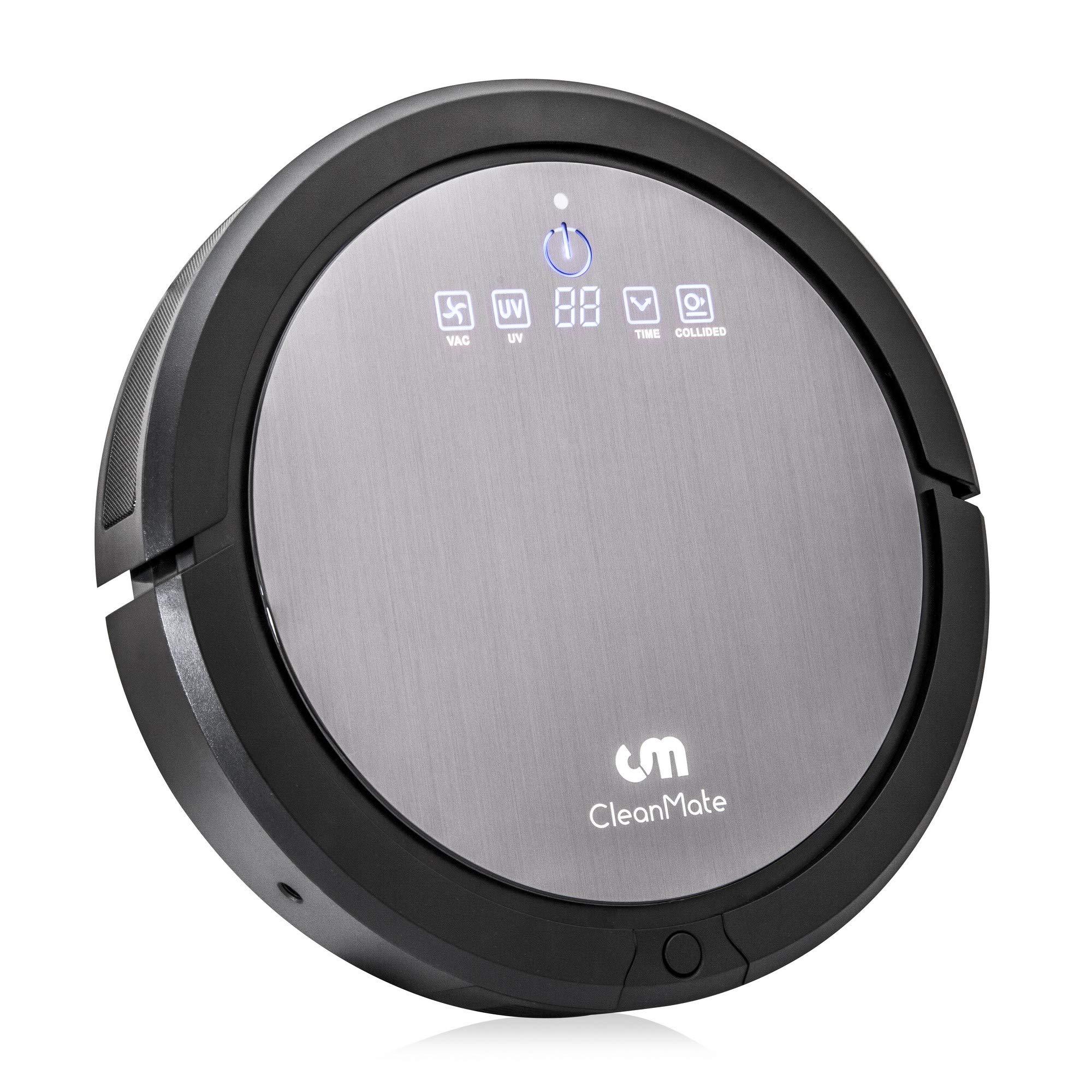 CleanMate CM3 Robot Vacuum Cleaner: Robotic Vacuum Cleaners for Carpet and Hardwood Floors