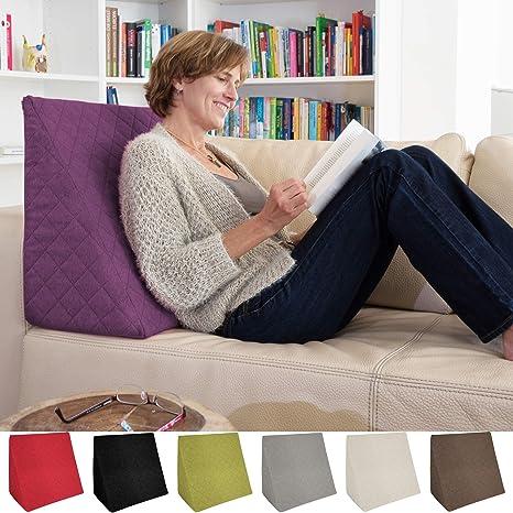 Sabeatex® Cojín lumbar, cojín para sofá y para sentarse ...