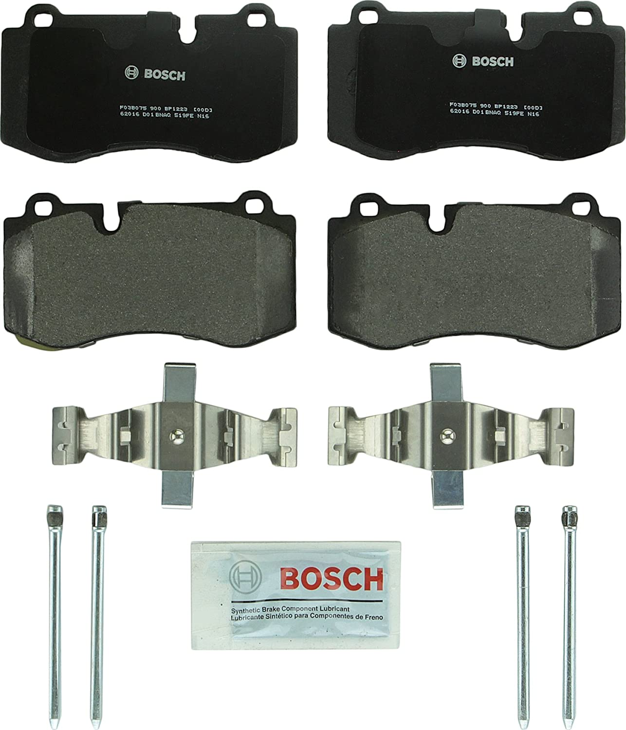 Bosch BP1223 QuietCast Premium Disc Brake Pad Set
