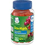 Gerber Grow Mighty Complete Kids Gummy Multivitamin: Vitamins A, C, D E and B6 for Immune Health, Non-GMO, Gluten-Free…
