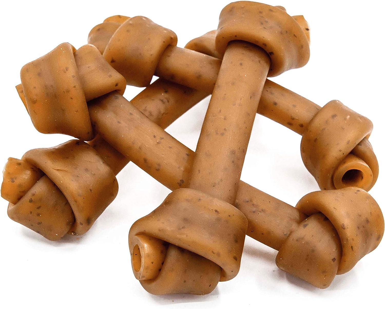 Jungle Calling Dog Treats Peanut Butter Bones, Rawhide Free Dog Dental Bone with Cranberry, Easy to Digest