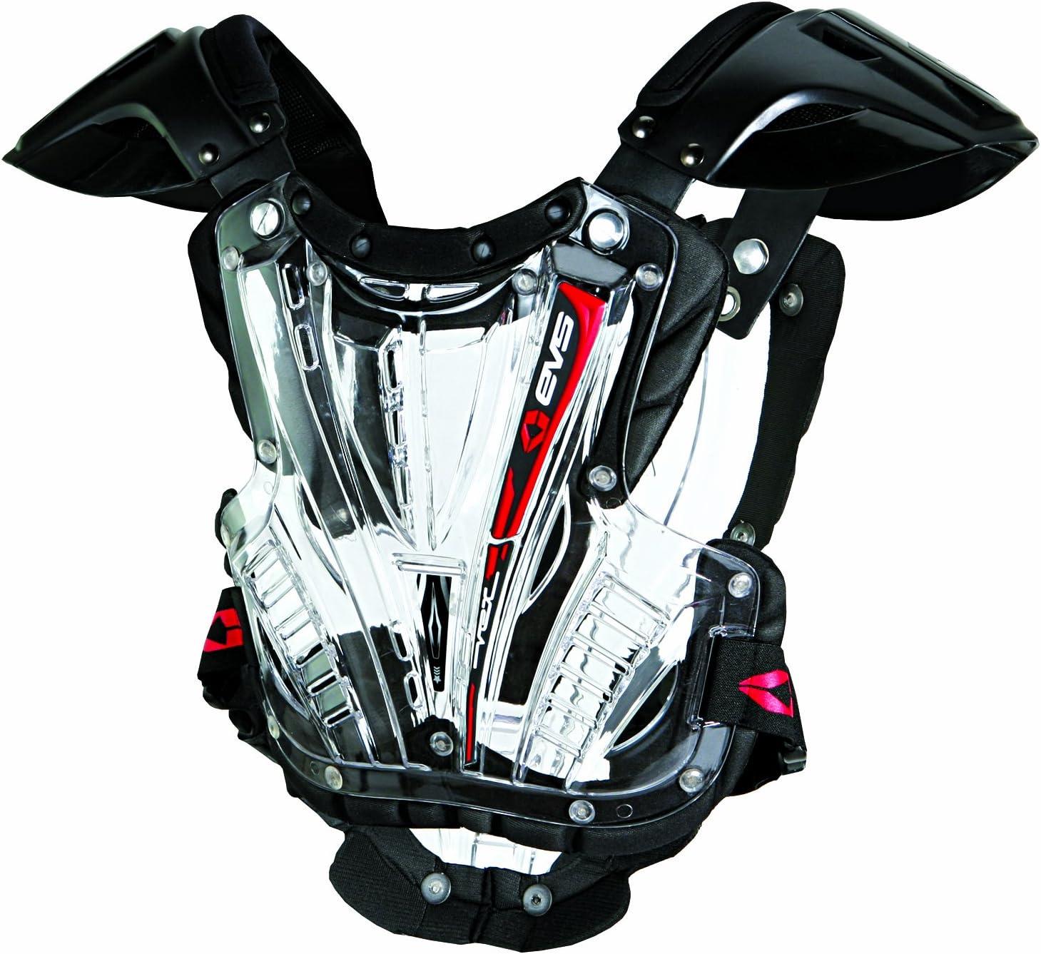 Black//Black, Large EVS Sports VEX Chest Protector