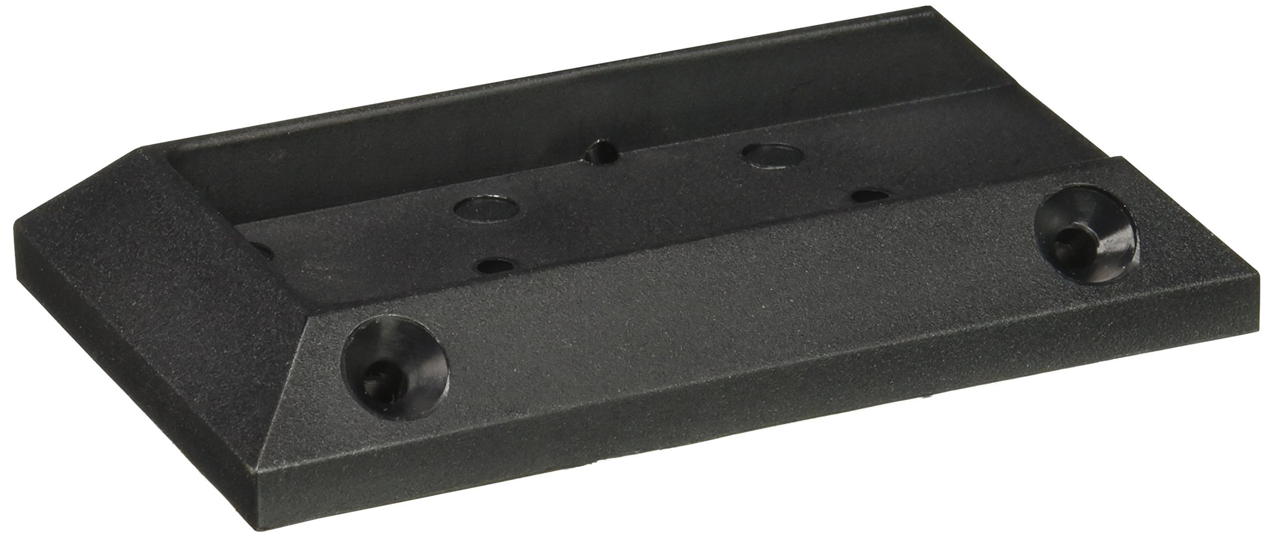 Deckorators Deck Railing Connectors Black 2 Pack