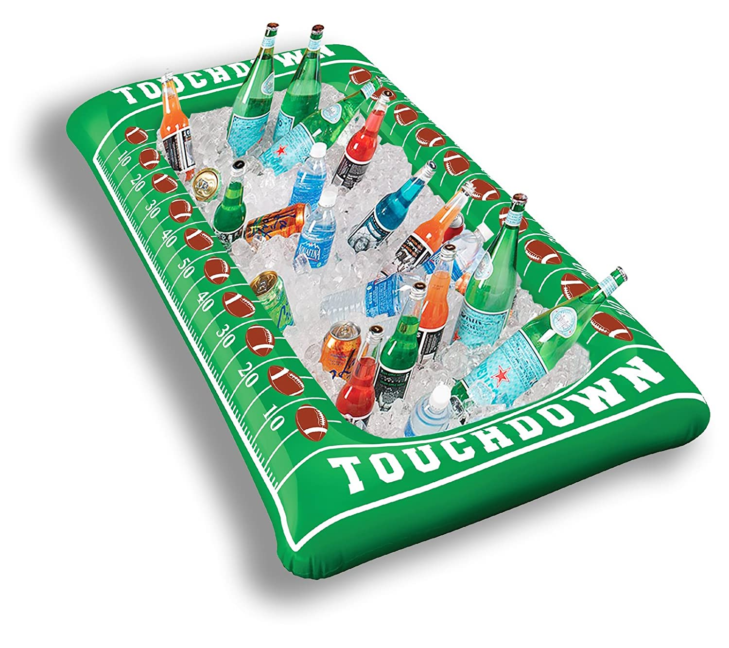 Football Party Inflatable Buffet Cooler,  Salad Bar