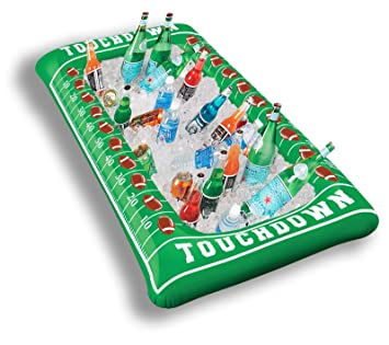 Charmant Football Party Inflatable Buffet Cooler Serving Salad Bar Tray Food Drink  Holder