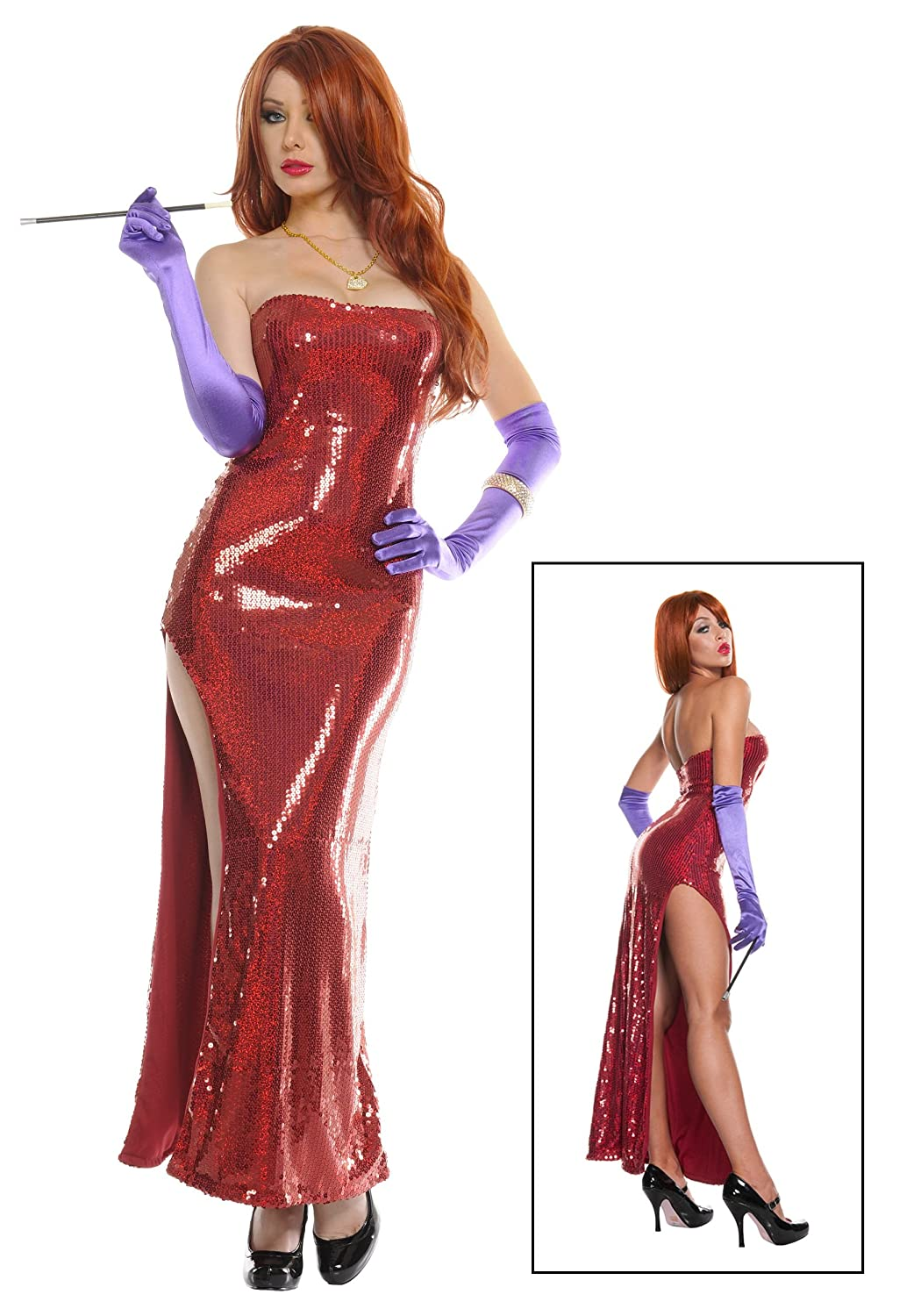 Fun Costumes womens Exclusive Deluxe Sequin Hollywood Singer Costume