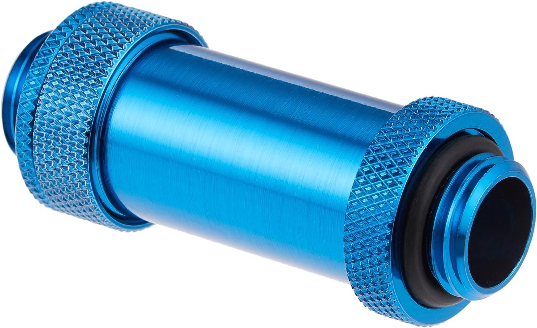 Bitspower G1//4 Adjustable Aqua Link Pipe Silver Shining 41-69mm