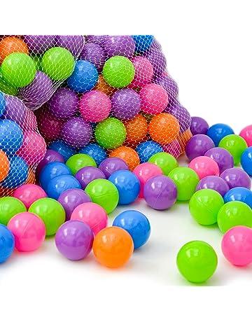 LittleTom 4000 Pelotas de Color Ø 6 cm para llenar Piscinas de Bolas para bebés