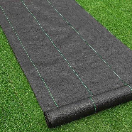 100g//m² Paillis Mauvaises Herbes Film contre mauvaises herbes Toile de sol 1 m de large au mètre