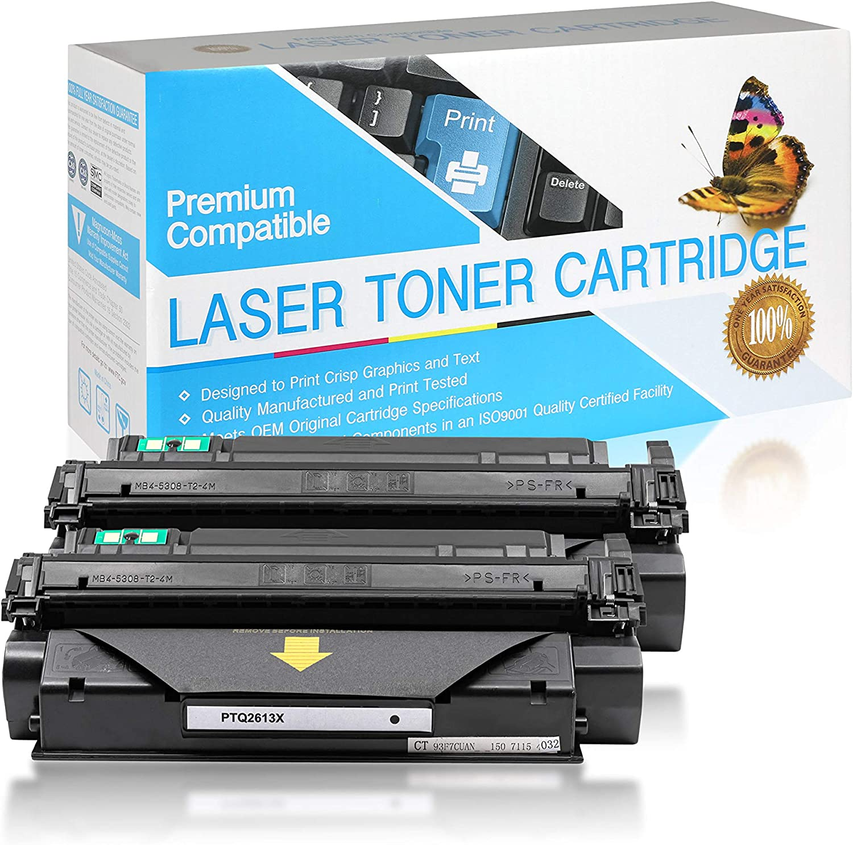 SuppliesOutlet Compatible Toner Cartridge Replacement for HP 13X / Q2613X (Black,2 Pack)