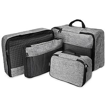 Compression Avec Procase Voyage Bagages Légère Un Toilette VoyageOrganiseurs Sac 4 Multifonctions Pour D'emballage À Cubes Set De Nwmn0v8